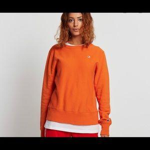 Champion fleece crew neck sweatshirt